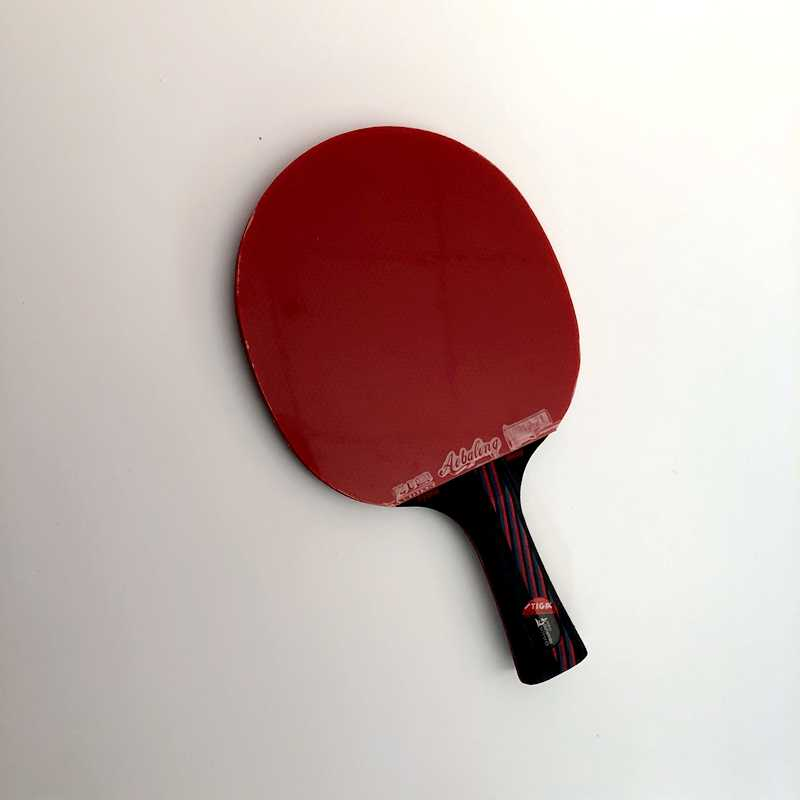 High end best quality table tennis professional wooden handle grip to table tennis racket shake hand pingpong racket paddle