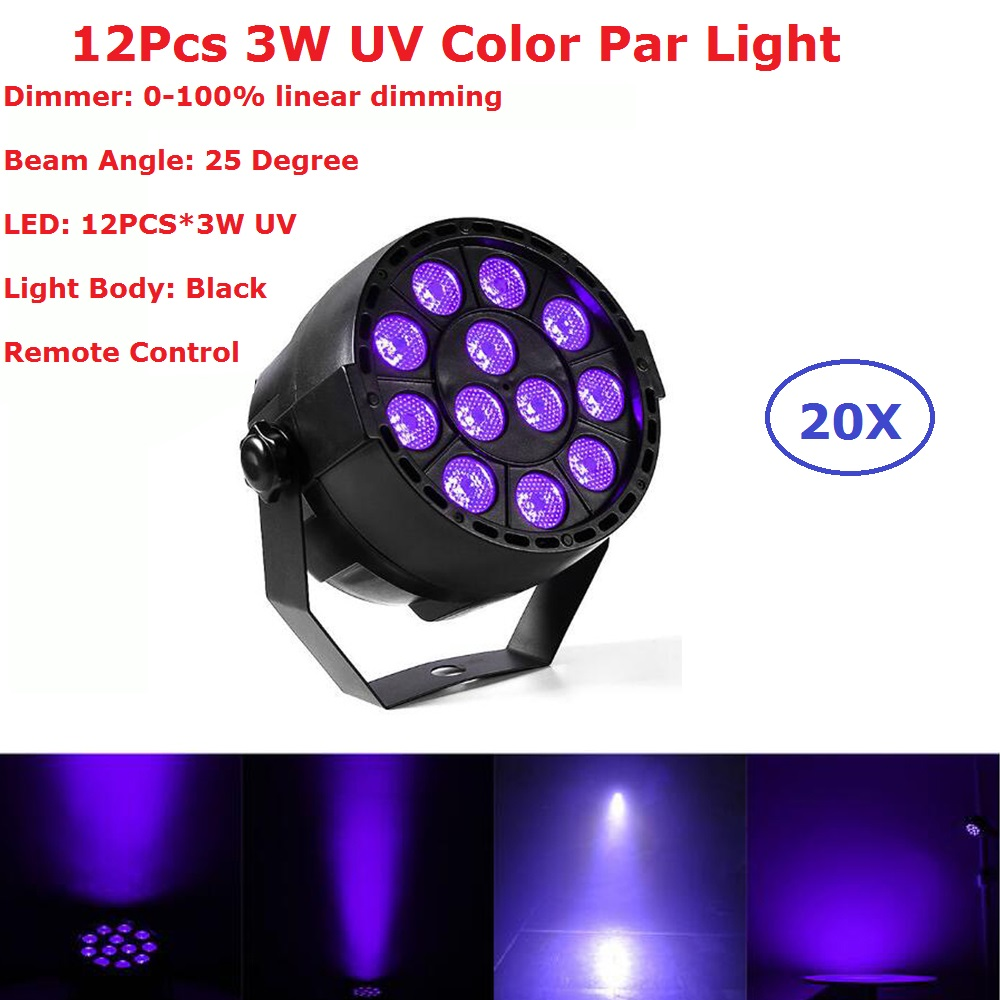 Newest 30W Flat LED Par Light UV Color Disco Lamp Stage Light luces discoteca laser Beam luz de projector lumiere dmx controller 10x dj disco par led 9x10w rgbw stage light dmx strobe flat luces discoteca party lights laser luz projector lumiere controller