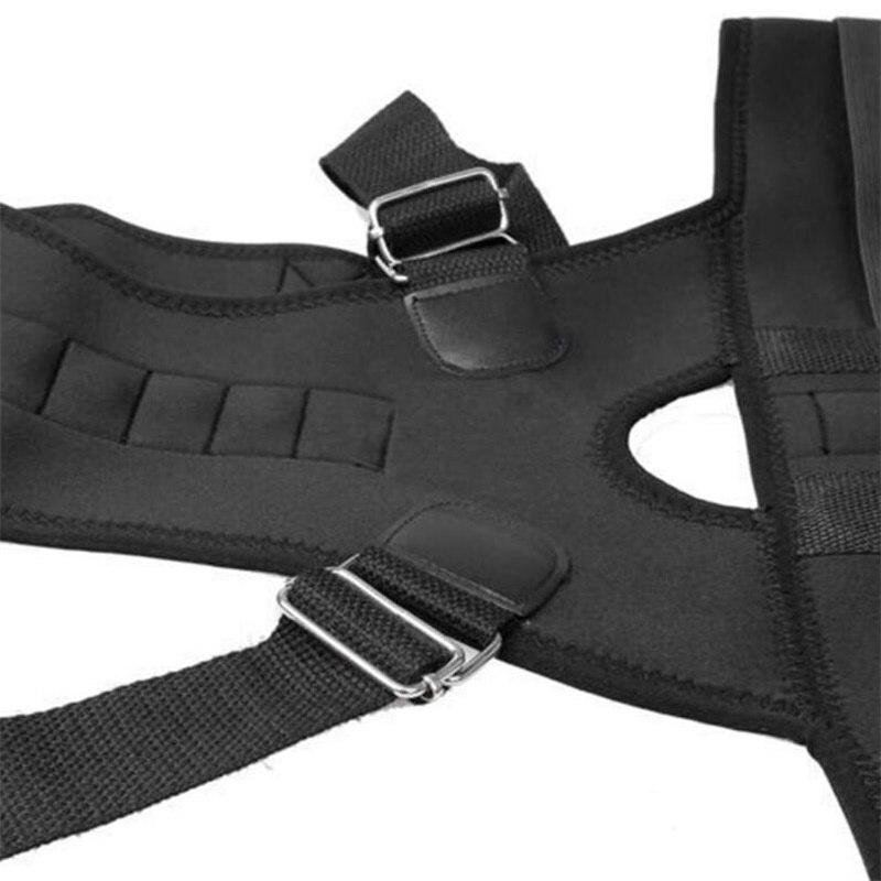 Women Men Orthopedic Back Support Belt Magnetic Posture Corrector Correct Posture Brace Correcteur de Posture 10 Magnets XXL