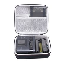 Ltgem estojo rígido de eva para impressora, sacola protetora para armazenamento, sem fio, para canon selphy cp1200 & cp1300