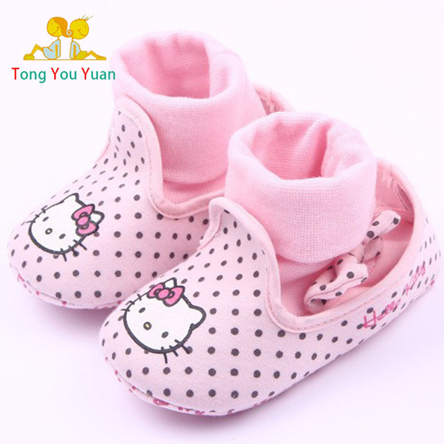 12dfb0f040af2 0-2 ans fille bébé première marche chaussure belle petit bébé fille  chaussures 11-