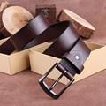 Hombres Cinturón de Hebilla de La Vendimia Cinturones de Cuero genuino Para Los Hombres de Largo Cinturón Ceinture Homme Hombres De Ancho Correa Cinturones Hombre MBT0263