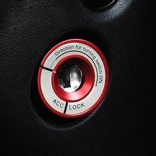 Couvercle de commutateur d'allumage lumineux, pour VW Golf, Polo, Passat Eos Tiguan, Audi A3 A4 TT, accessoire d'intérieur de voiture, nouveau Style de mode