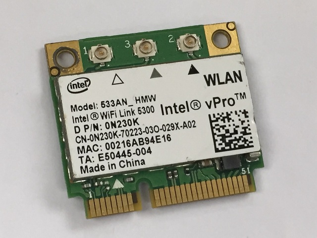DELL INTEL 5300 AGN DRIVERS FOR WINDOWS VISTA