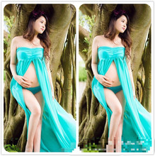 Fashion Maternity Photography Props Fancy Maternity Dresses Pregnant Clothes