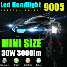 9005 HB3 High Power LED Lights Bulbs 3000LM 30W DRL Fog Lights Low Beam High Beam Headlight Headlamp Car Truck Lamp Replacemt