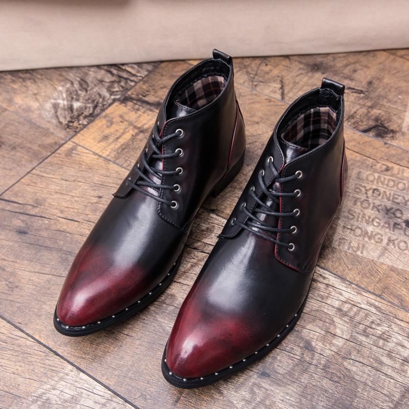 Noir Red Haute Shoes D'affaires Luxe wine Vin Robe Mode Rouge À La Marque Mâle Shoes Black sliver Hommes Chaussures Shoes Formelle Main Designer De Cnpaak 5jq3Lc4AR