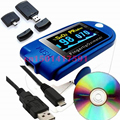 *Wholesale* 2016New CMS50D Pluse Pulse Oximeter with USB software,oximetro pulse oximeter spo2  oled fingertip pulse oximeter