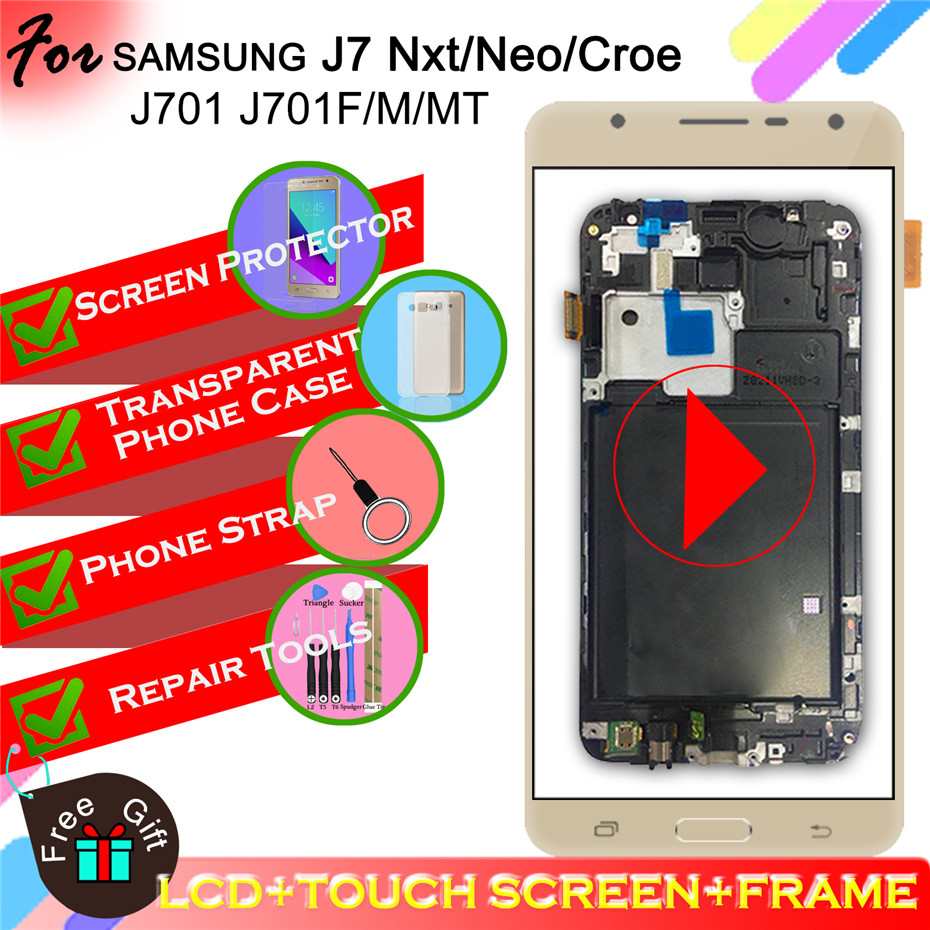 TFT J701 LCD Display for Samsung Galaxy J7 nxt J701F J701M j701 J7