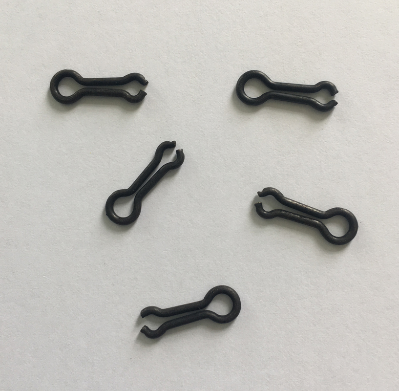 1000 x Carp Fishing Matt Black Lead Mould Loops S or L Lead Weight Mould Eye