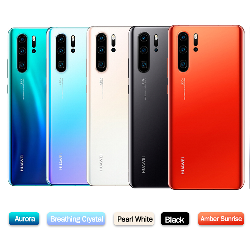 Original New Official Huawei P30 Pro Mobile phone Kirin 980 2.6GHz Android 9.1 6.47'' OLED 2340X1080P IP68 NFC 4 Cameras 40MP 1