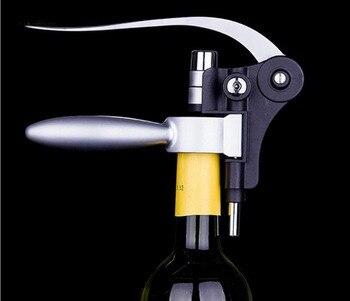 1 шт. Новый высокое качество Практические кролик красное вино открывалка инструмент Корк Бутылки шин штопор Pourer набор ок 0377