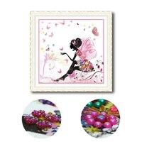 Special Shaped Diamond Painting Fairy Cartoon DIY Diamant Schilderen Hobby Muur Stickers Embroidery Bead Patterns 5d