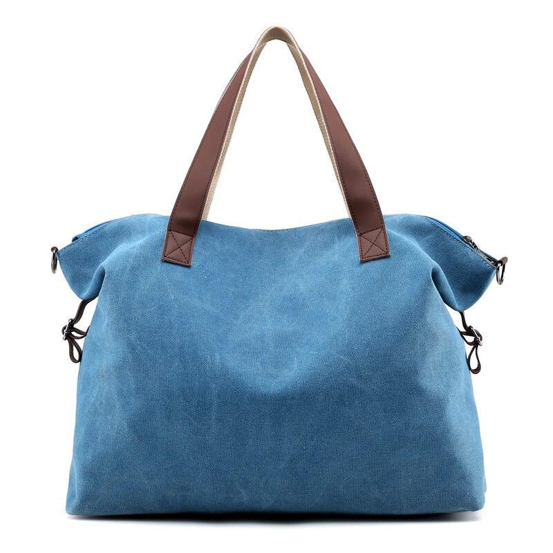 Di Delle Grandi Beige Tote Tela Feminina 2017 blue brown Nuovo Borse Bolsa Casuali Da Spalla Dimensioni gray Ranhuang Sacchetti Modo Viaggio black Donne Bags zxqfXX