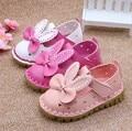 Venda quente de Varejo nova primavera oco rodada arco sapatos femininos sapatos versão Coreana de sapatos de bebê antiderrapante sapatos bela princesa bonito d