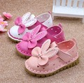 hot selling Retail new  spring round hollow bow female shoes Korean version  baby shoes nonslip shoes beautiful princess cute  d