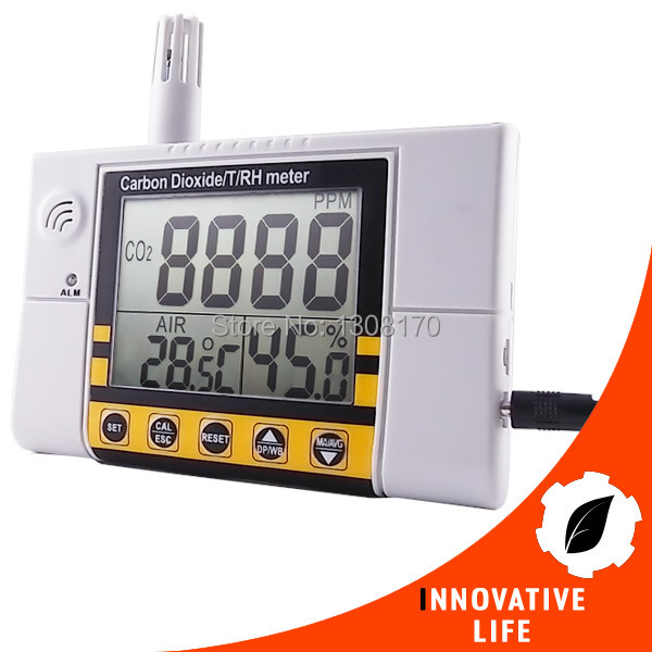 0~2000ppm Range Wall Mount Indoor Air Quality Temperature RH Carbon Dioxide CO2 Monitor Digital Meter Sensor Controller 9999ppm carbon dioxide co2 monitor detector air temperature humidity logger