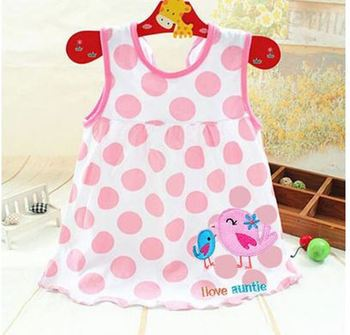 0-2T Casual Summer Baby Dress Cotton Floral Infant Girl Dresses Ruffles Toddler Baby Girl Clothes 1-2 years old