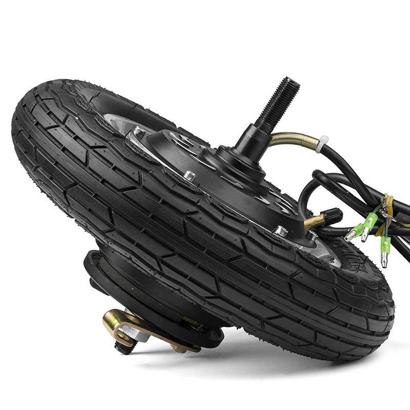 10 pouces 350 W 24 V 36 V 48 V moteur de moyeu de moteur de vélo électrique pour chargeur de Scooter électrique Kit électrique sans brosse pour Kit de vélo électrique