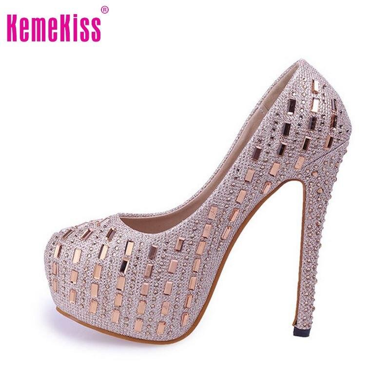 Kadınlar yüksek topuk ayakkabı platformu kadın düğün çivili stiletto seksi marka moda topuklu pompalar topuklu ayakkabı boyutu 34-39 P19191