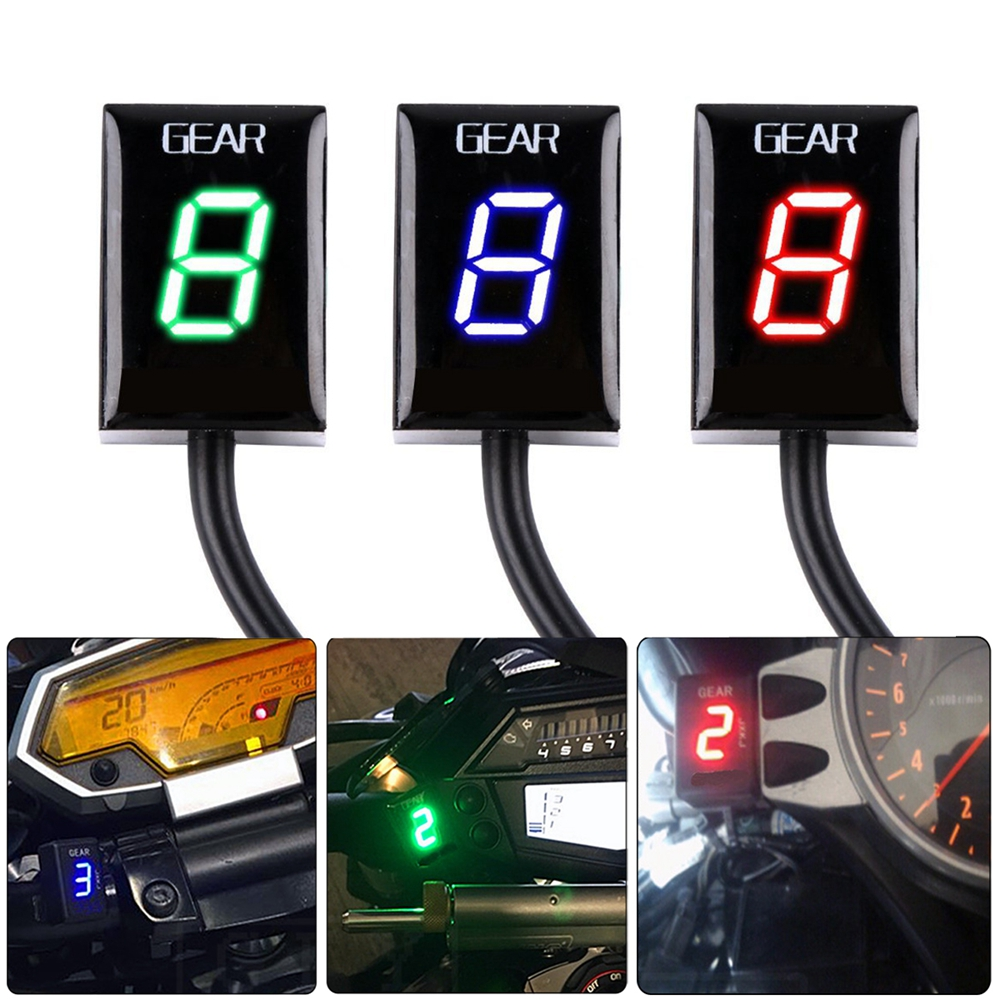 Motorcycle Gear Indicator Plug play For Honda XL700V Transalp non ABS XL700V Transalp ABS 2008 2014