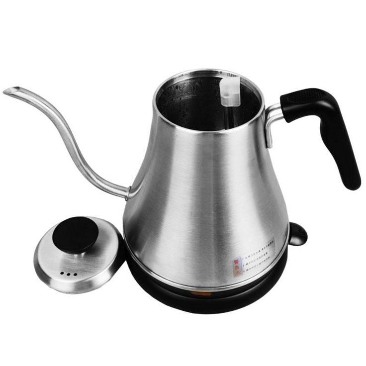800 ml 220 V rvs theepot koffie thee gereedschap giet over koffie pot ketel keuken gereedschap thee pot