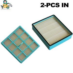 Image 4 - 6 parça/paket hepa filtreleri elektrikli süpürge için Philips parçaları FC8140 FC8142 FC8146 FC8147 FC8148 temizleyici aksesuarları