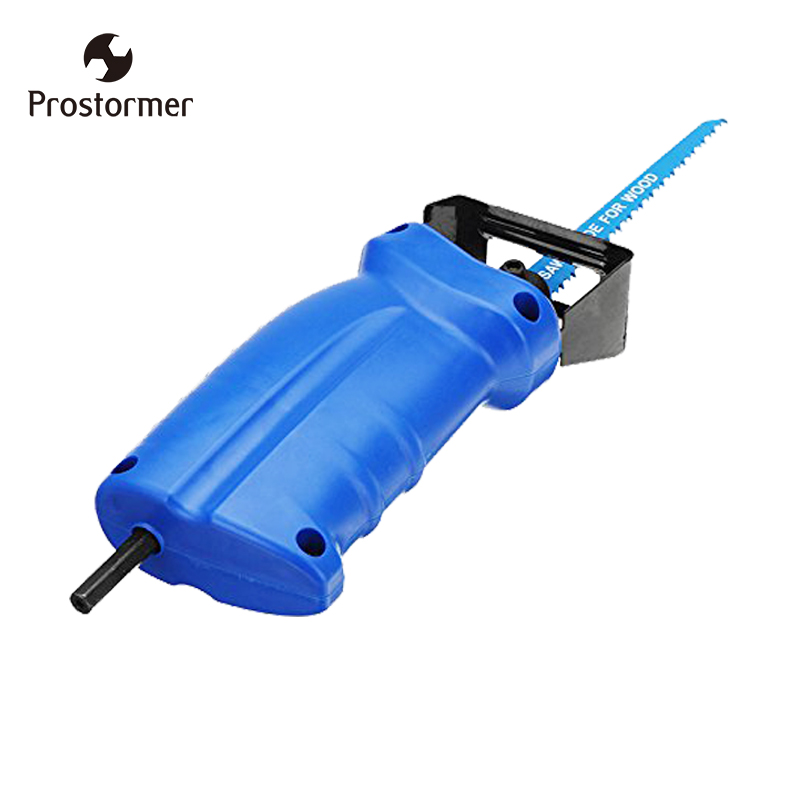 Prostormer Reciprocating saw Metal Cutting wood Cutting Tool electric drill attachment with 3 blades power tool accessories 10pcs jig saw blades reciprocating saw multi cutting for wood metal reciprocating saw power tools accessories rct