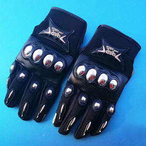 Image 4 - Full finger motorcycle gloves security protective Sweat absorb motocross dirbike DH racing gloves men women moto gloves