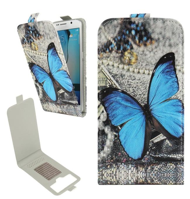 Yooyour NeweFashion Impreso PU Flip funda para Micromax Bolt Q301 - Accesorios y repuestos para celulares - foto 4