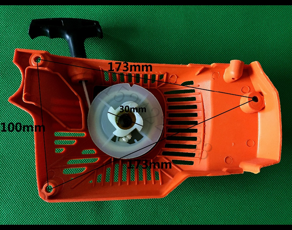 Recoil Starter Pull Spare Parts of Petrol Chainsaw China 3800 38CC Single-Type