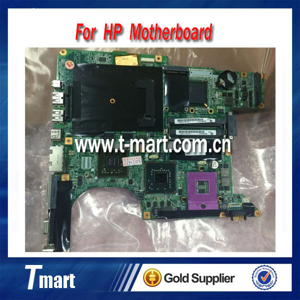 ФОТО for hp dv9000 DV9500 447982-001 laptop motherboard for intel cpu with 4 video chips GPU origianl and work well full tested