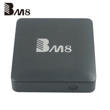 Amlogic S905X RAM 2 ГБ ROM 32 ГБ BM8 android TV Box Android 6.0 Smart TV Коробка 16 4 К Smart media player Бесплатно IPTV Dual Wifi 5 Г