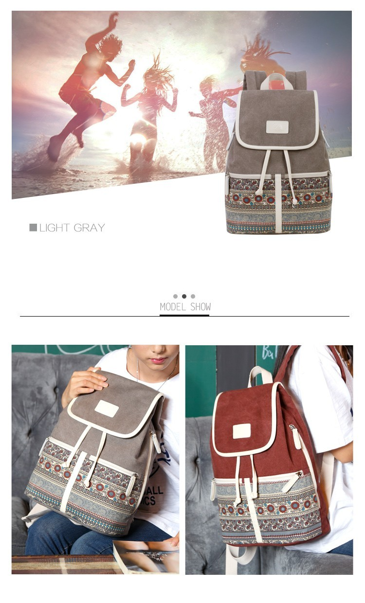 HTB1Wy.TcvNNTKJjSspfq6zXIFXah Canvasartisan Top Quality Canvas Women Backpack Casual College Bookbag Female Retro Stylish Daily Travel Laptop Backpacks Bag