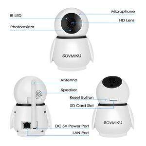 Image 5 - Беспроводная Инфракрасная IP камера для домашней системы видеонаблюдения, 1080P