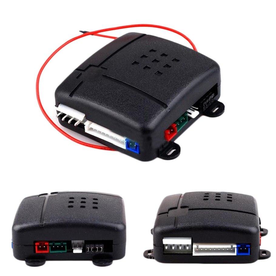 Универсальная односторонняя Автомобильная сигнализация, система защиты, система безопасности, без ключа, сирена с 2 пультами дистанционного управления, защита от взлома