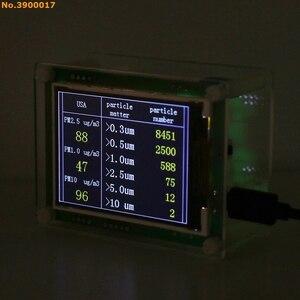 """Image 3 - 2,8 """"Автомобильный детектор PM2.5, измеритель качества воздуха, домашний газовый термометр"""