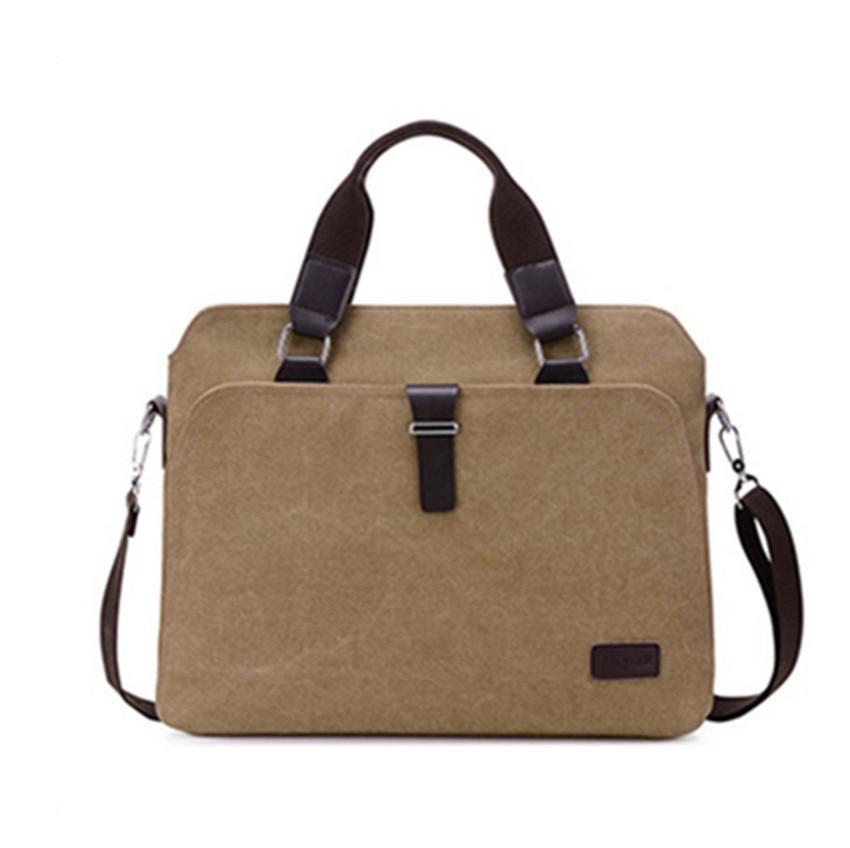 Men's Bag Single-Shoulder Bag Business Horizontal Men's Handbag Cross-Body Bag Computer Briefcase