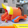 Biggors Doble Tobogán Inflable Casa de La Despedida inflable Parque Infantil De Diversiones Juegos Outoor