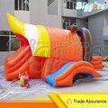 Inflável Biggors Inflável Casa do Salto Slide Duplo Crianças Parque De Diversões Jogos Outoor