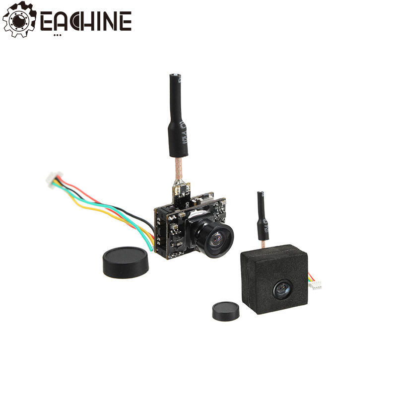 Eachine TX05 0.01/5/25/50/100 /250mW Switchable W/ OSD AIO 5.8G 72CH VTX 600TVL NTSC Mini FPV Camera For RC Drone Model