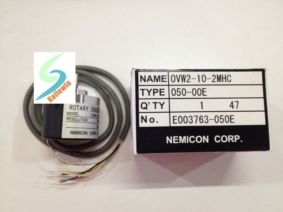 Free Shipping NEW OVW2-10-2MHC 1000P/R Photoelectric Rotary Encoder, 1000P/R Resolution OVW2-10-2MHC ovw2 036 2m encoder new in box free shipping