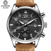 Ochstin Marque Montre Hommes Top Mode De Luxe Horloges Mannen Multifonction Sport Quartz Hommes Montre Étanche Montre Hommes Relogio