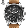 Relógio marca homens top de luxo da moda horloges mannen ochstin multifunction esporte homens assistir à prova d' água homens relógio de quartzo relogio