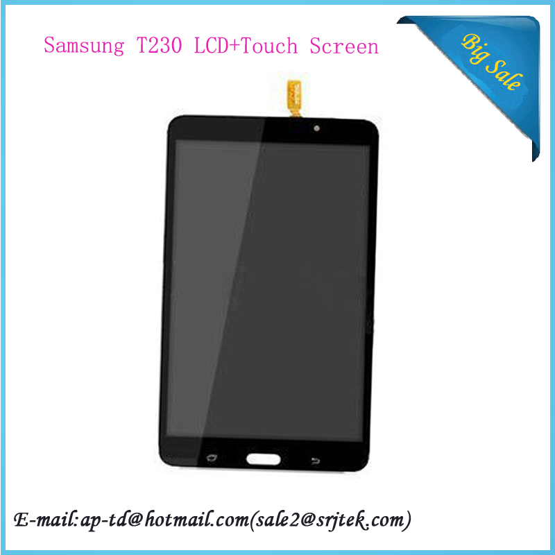 7'' Black For Samsung Galaxy Tab 4 7.0 SM-T230 T230 LCD Display Monitor Touch Screen Digitizer Glass Sensor Replacement Assembly