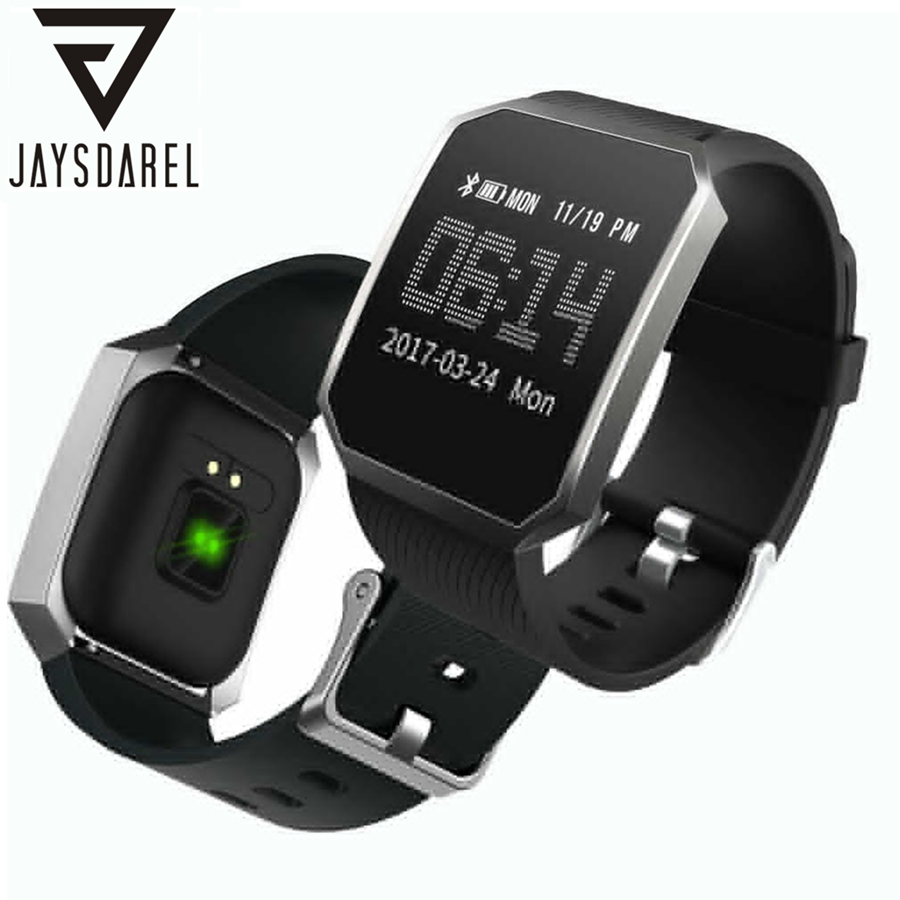JAYSDAREL DD101 Heart Rate Smart Watch Blood Pressure Oxygen Sport Health Monitor Pedometer Bluetooth Smartwatch for IOS Android free shipping smart watch c7 smartwatch 1 22 waterproof ip67 wristwatch bluetooth 4 0 siri gsm heart rate monitor ios