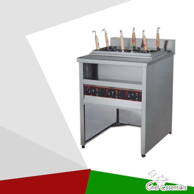 PKJG-EH876 Electric Convection Pasta Cooker /6 pan, for Commercial Kitchen pkjg gh776 gas convection pasta cooker 6 pan for commercial kitchen