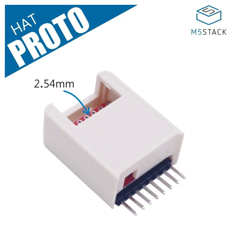 M5StickC ESP32Mini IoT Development Board Compatible PROTO Hat Accept Customized PRO TO Module Expansion Board Prototyping