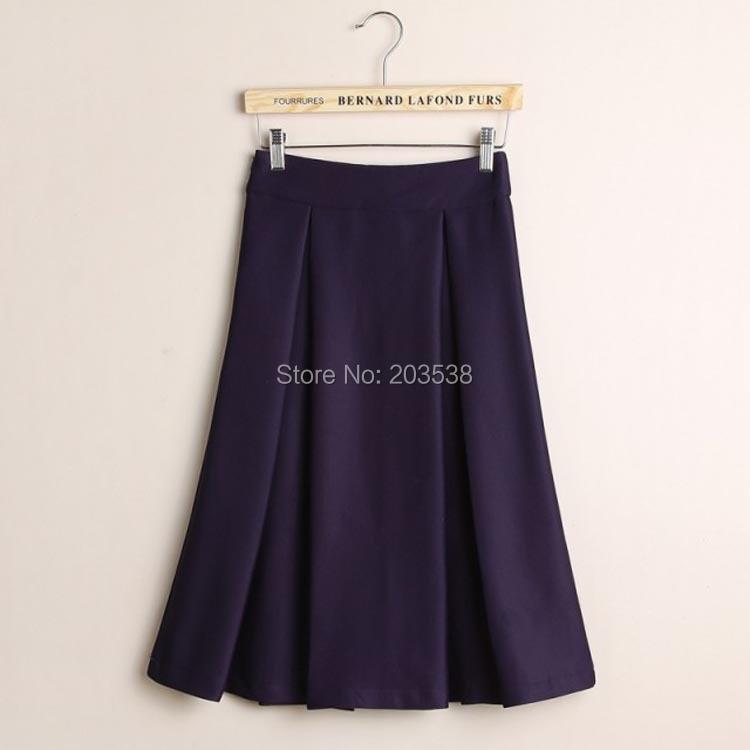 autumn skirt Purple
