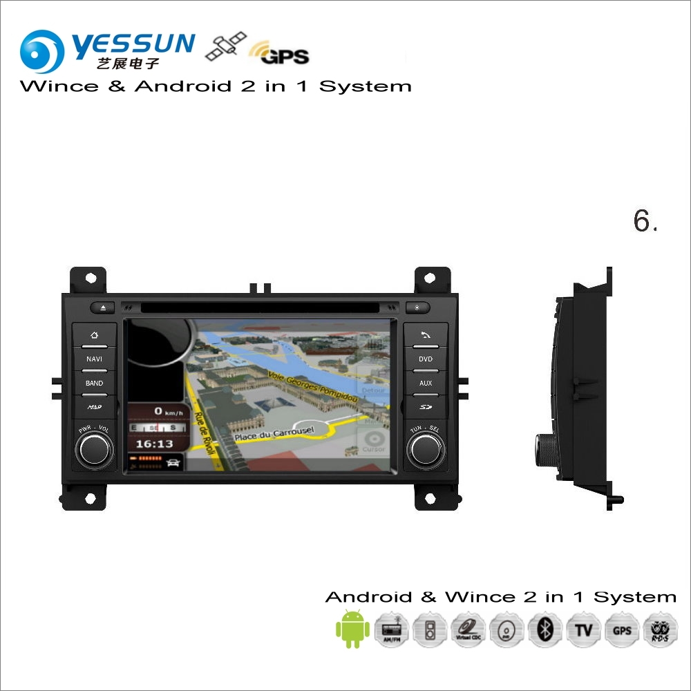YESSUN For JEEP Grand Cherokee 2011~2013 Car Android Multimedia Radio CD DVD Player GPS Navi Map Navigation Audio Video Stereo yessun for mazda cx 5 2017 2018 android car navigation gps hd touch screen audio video radio stereo multimedia player no cd dvd